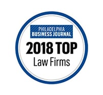 Philadelphia Business Journal 2018 Top Law Firms
